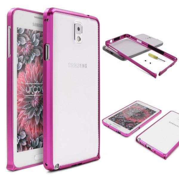 Urcover® Samsung Galaxy Note 3 Alu Bumper Schutz Hülle Case Cover Tasche Etui