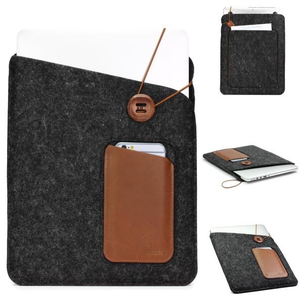 Filz/Kunstleder Tasche/Smartphonefach Sleeve Style Urcover/d-Park