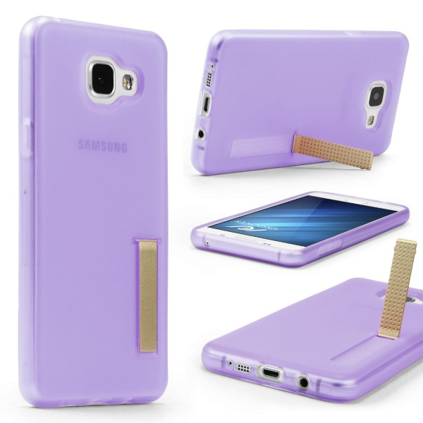 Urcover® Samsung Galaxy A5 (2016) Schutz Hülle mit Standfunktion Soft Case Cover