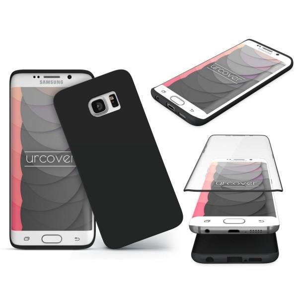 Samsung Galaxy S6 Edge TOUCH CASE Display Schutzhülle Schale Rundum Cover Tasche