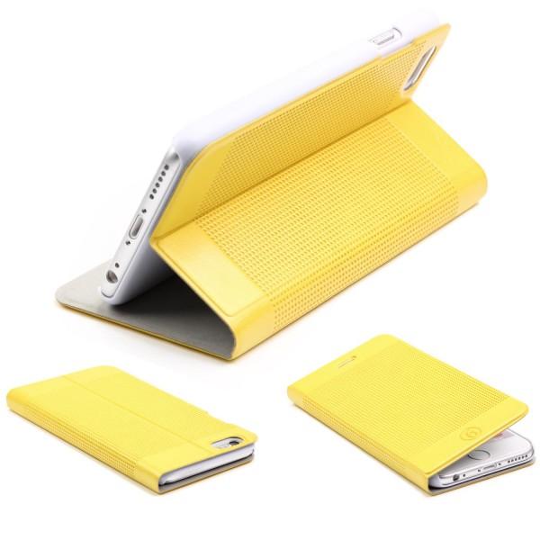 Urcover® Apple iPhone 6 Plus / 6s Plus Kunstleder Wallet Schutzhülle Case Cover