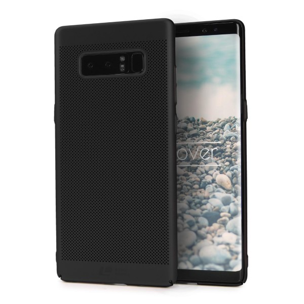 Samsung Galaxy Note 8 Schutzhülle TOP HAPTIK Cover Back Case Bumper Hülle Etui