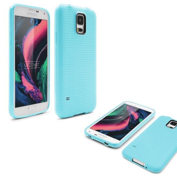 Urcover® Handy Schutz Hülle für Samsung Galaxy S5 Silikon Back Case Cover Tasche