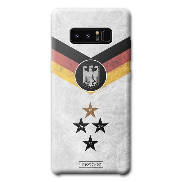 Samsung Galaxy Note 8 Handyhülle Fanartikel Fussball Case Fußball