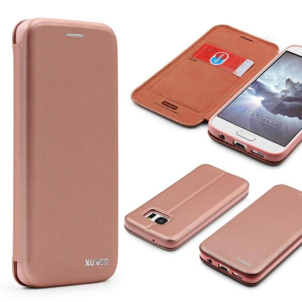 Urcover® Samsung Galaxy S7 Schutzhülle Kartenfach Ständer Case Cover Etui Tasche
