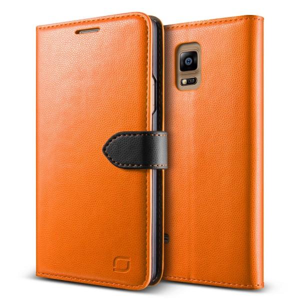 Urcover® Samsung Galaxy Note 4 Extra Slim Klapp Schutz Hülle Case Cover Etui