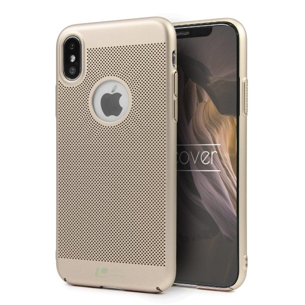Apple iPhone X Schutzhülle TOP HAPTIK Cover Back Case Bumper HandyHülle Etui