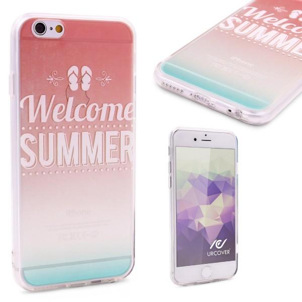 Urcover® Apple iPhone 6 / 6s Schutzhülle TPU Case Cover Design Fernsehturm