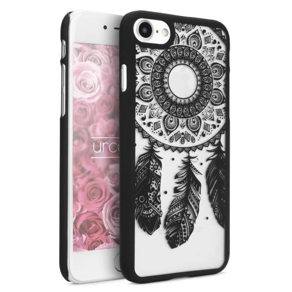 Urcover® Apple iPhone 7 Feder Back Case Schutz Hülle Design Cover Schale Etui