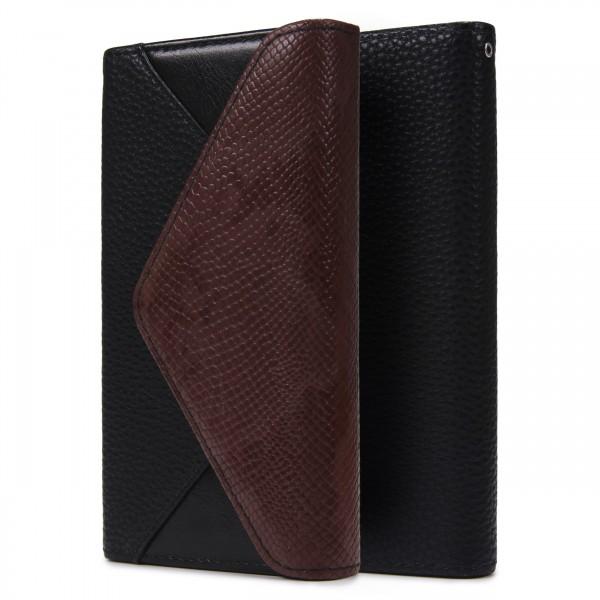 Urcover® Sony Xperia M4 Schutz Hülle Karten & Geld Fach Case Cover Etui