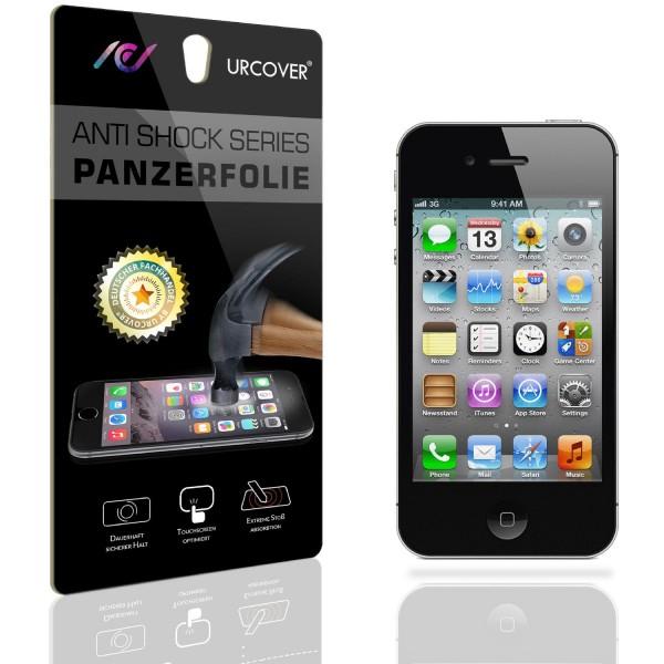 Apple iPhone 4 / 4s Display Schutz Folie Ultra Klar PET Handy Schutzfolie Clear