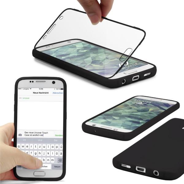 Samsung Galaxy S7 TOUCH CASE Display Schutz Hülle Schale Rundum Cover Tasche