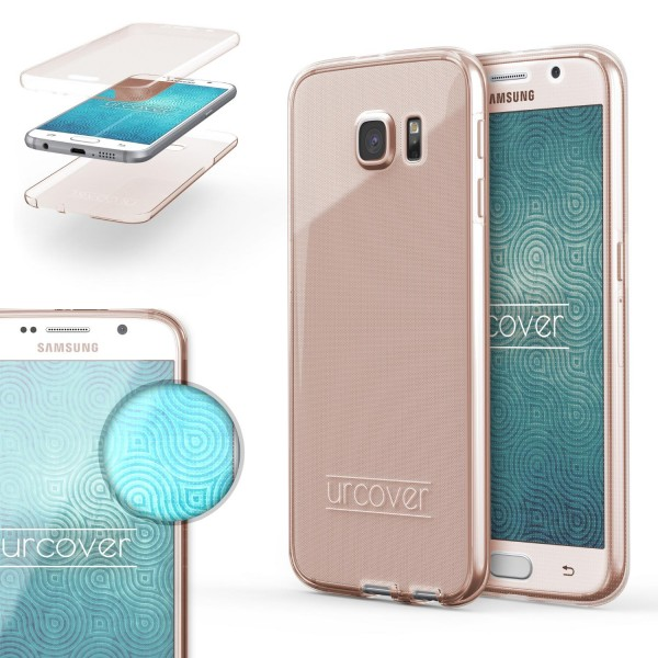 Samsung Galaxy S6 360 Grad Rundum Schutz Hülle Case TPU Etui Cover Tasche