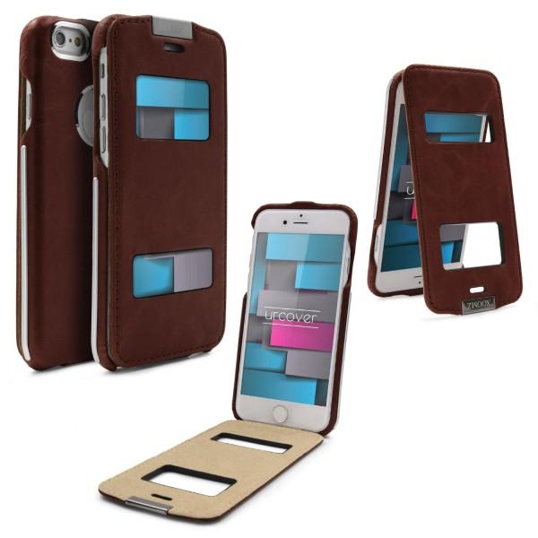 XoomZ Apple iPhone 6 / 6s Schutz Hülle Klapphülle Case Cover Etui