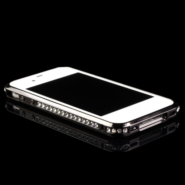 Urcover® Apple iPhone 4 / 4s Alu Handy Schutz Hülle Bumper Hard Case Cover
