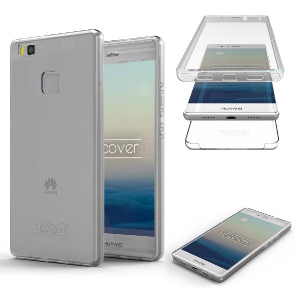 Urcover Huawei P9 Lite Touch Case 2.0 Hard Edition berühmt durch Galileo Rundum 360° Crystal Clear Schutzhülle