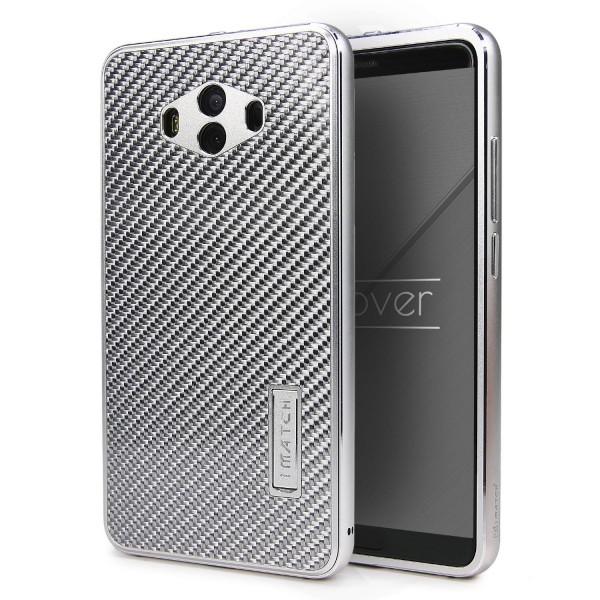 Carbon Case für Huawei Mate 10 Karbon Schutzhülle Backcase Cover Bumper Hülle