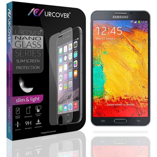 Samsung Galaxy Note 3 Neo Echt Glas Panzer Display Schutz Folie Ultra Slim Clear