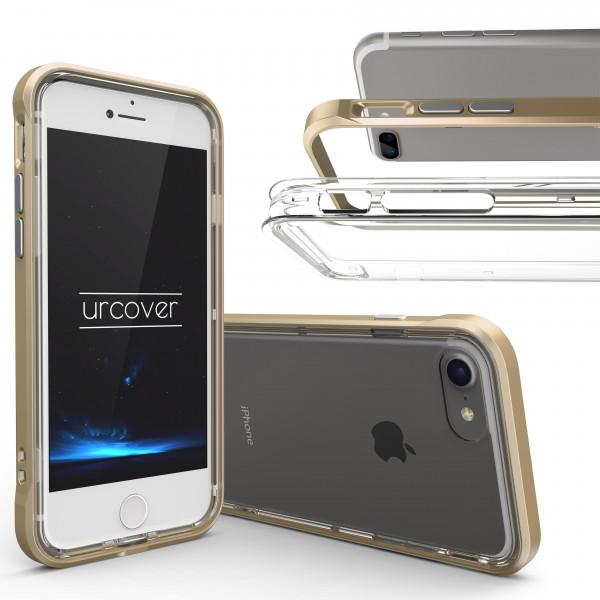 Urcover® Apple iPhone 7 Plus Schutzhülle Ecken Schutz Bumper Case Cover Etui