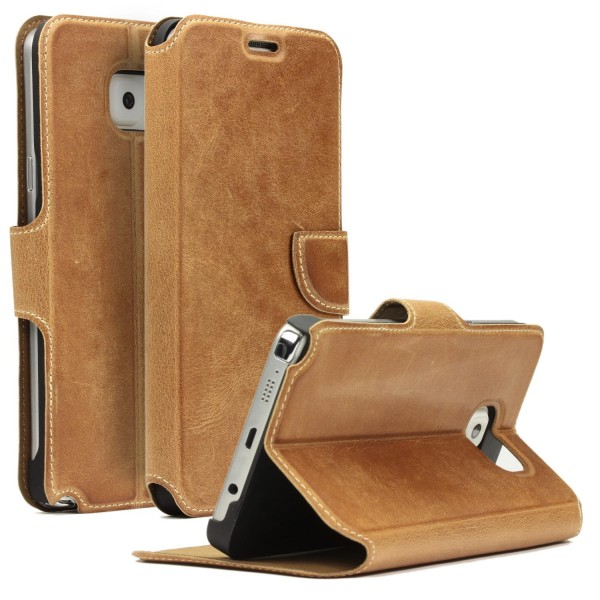 Akira Handmade Leder Handy Schutz Hülle Case Cover Wallet Galaxy Note 5
