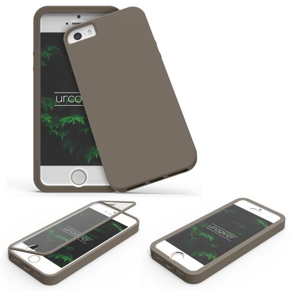 Apple iPhone 5 / 5s / SE TOUCH CASE Display Schutz Hülle Schale Rundum Cover