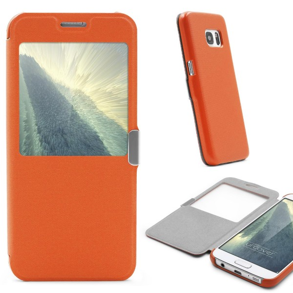 Samsung Galaxy S7 View Case Schutz Hülle Sicht-Fenster Cover