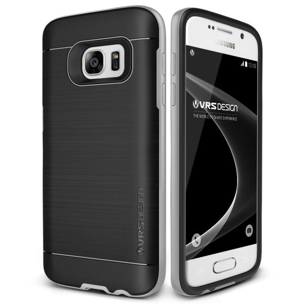Samsung Galaxy S7 VRS Design Schutz Hülle Case Cover TPU Schale Polycarbonat