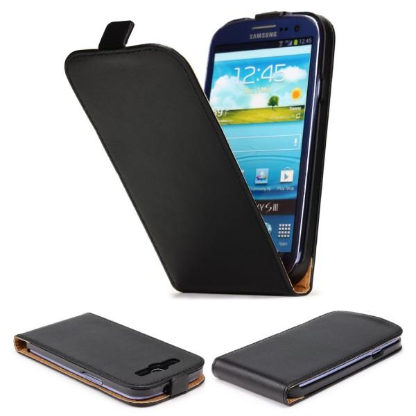 Urcover® Samsung Galaxy S3 Kunstleder Flip Schutz Wallet Hülle Case Cover Schale
