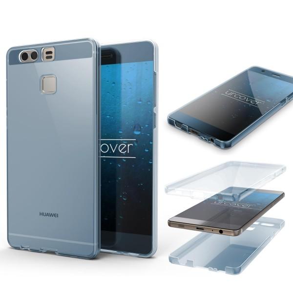 Huawei P9 TPU Case 360° Grad rundum Schutz Hülle Etui Cover Full Body Touch Case