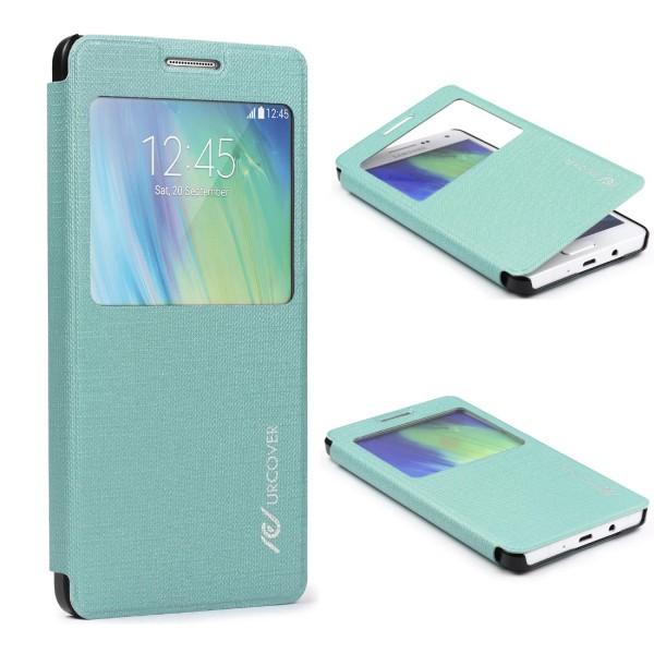 Samsung Galaxy A5 (2015) View Case Schutz Hülle Wallet Cover Etui Tasche