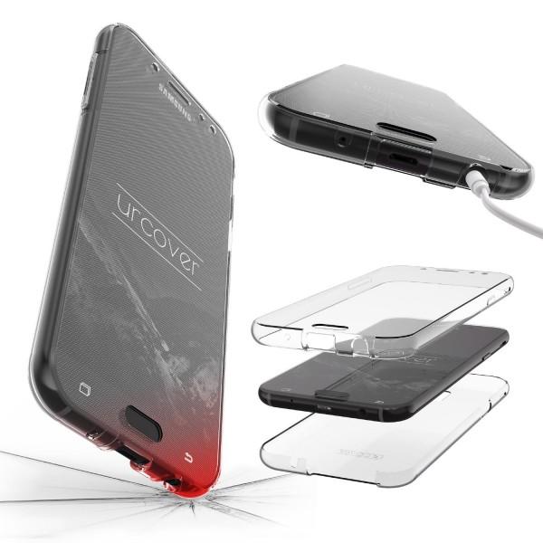 Samsung Galaxy J3 (2017 Europa) 360 Grad Rundum Schutz Hülle Case TPU Etui Cover