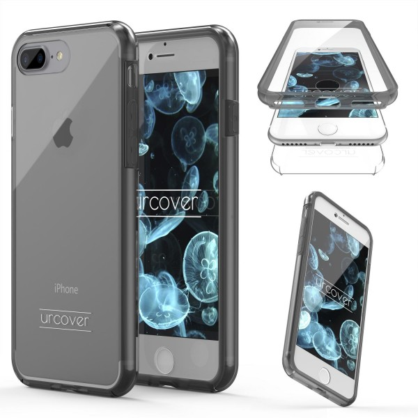Urcover Apple iPhone 7 Plus Touch Case 2.0 Hard Edition berühmt durch Galileo Rundum 360° Crystal Clear Schutzhülle