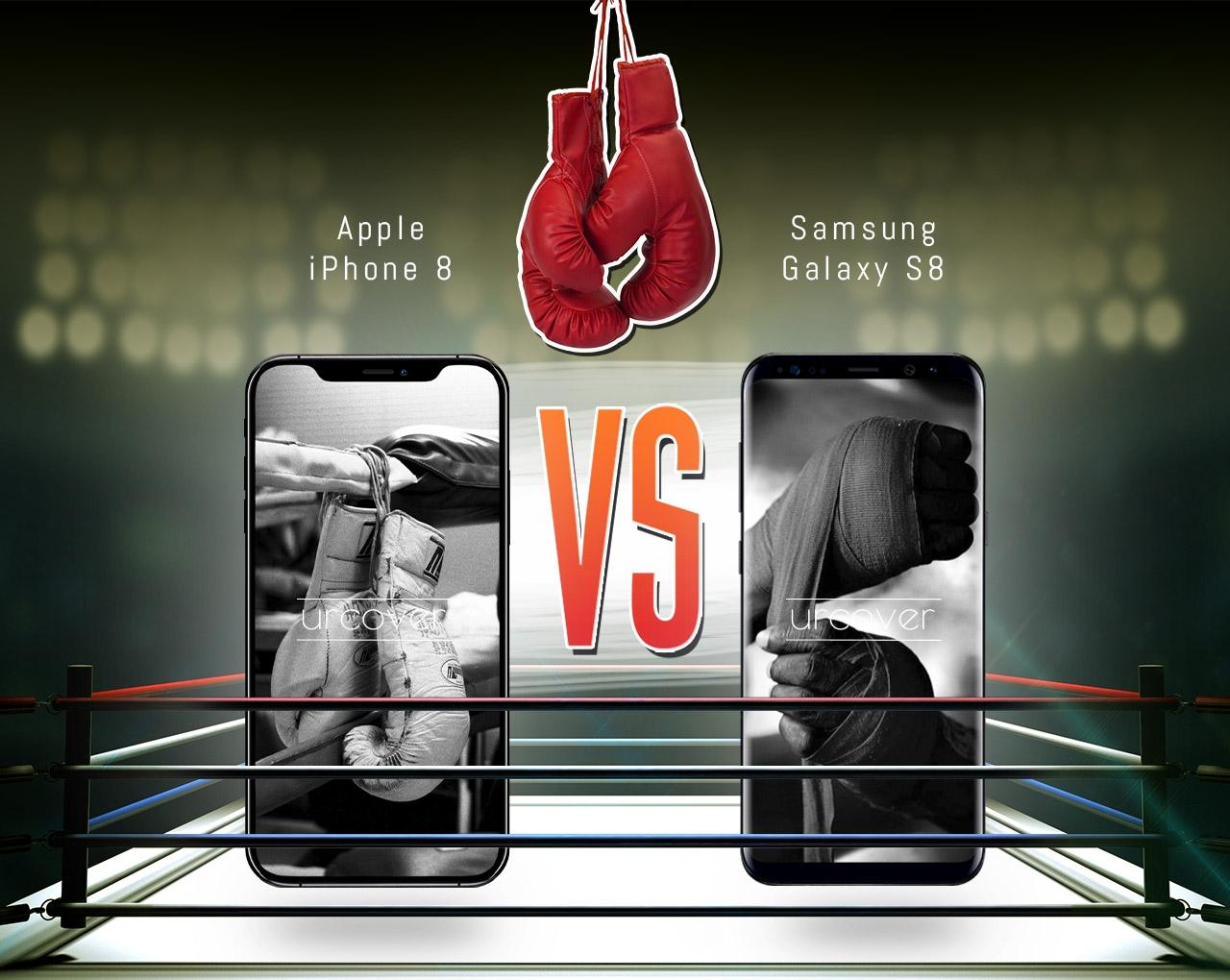 iPhone 8 vs. Galaxy S8