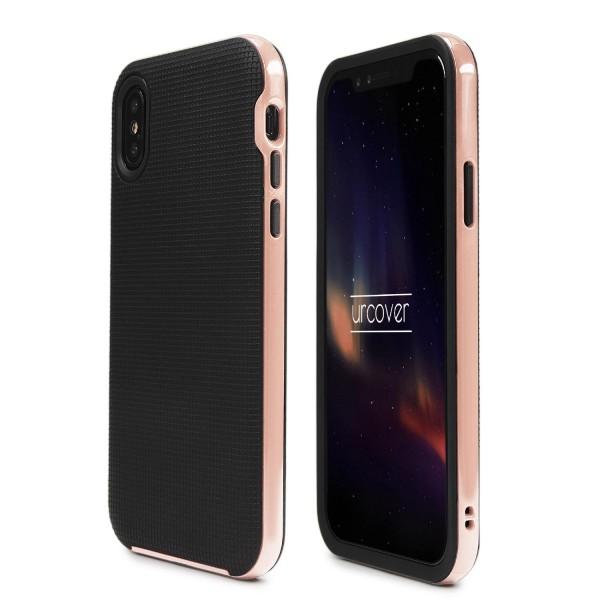 Urcover® Apple iPhone X Case Slim Dual Layer Handy Schutz Hülle Case Cover Hybrid Tasche Schale