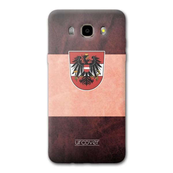 Urcover® Samsung Galaxy J5 (2016) Fanartikel Schutz Hülle Fußball Case Land Etui