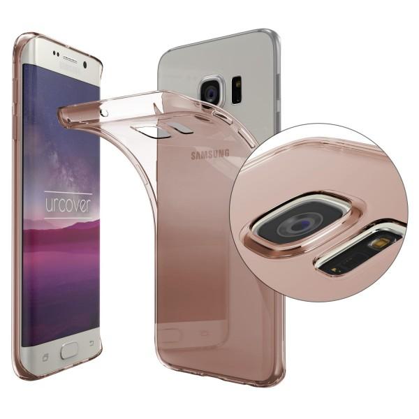 Samsung Galaxy S6 Edge TPU Case KAMERASCHUTZ Schutz Hülle Cover Schale Silikon