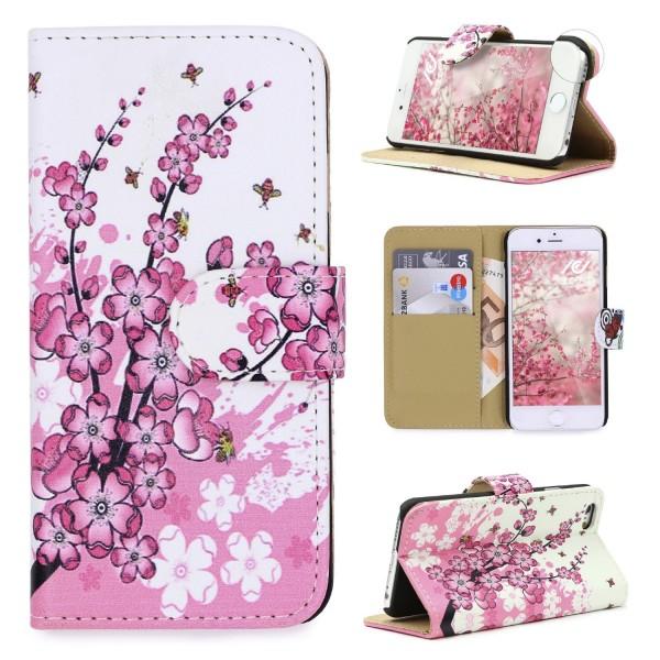 Urcover® Apple iPhone 6 / 6s Design Wallet Kartenfach Schutz Hülle Cover Case