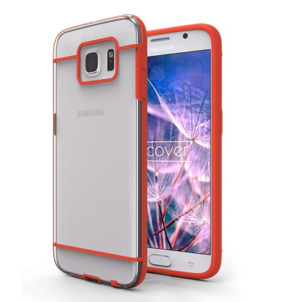 Urcover® Samsung Galaxy S6 Schutz Hülle Slim Hard Back Case Cover Tasche Etui