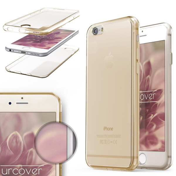 Apple iPhone 6 Plus / 6s Plus TPU Case 360 Grad Schutz Hülle Etui Cover Case