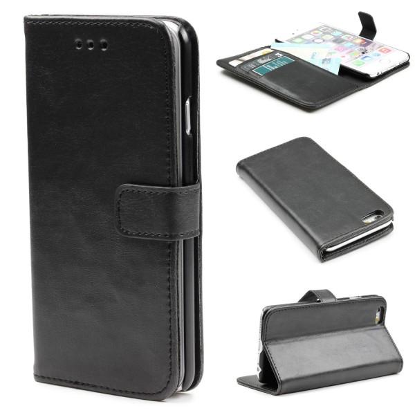 Urcover® iPhone 6 / 6s Schutz Klapp Hülle Case Cover Schale Retro Handy Tasche