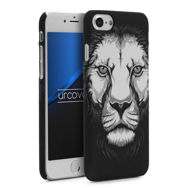 Urcover® Apple iPhone 7 Handy Schutz Hülle Tier Muster Cover Schutz Case Tasche