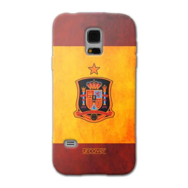 Urcover® Samsung Galaxy S5 Mini Fanartikel Schutz Hülle Fußball Case Land Flagge