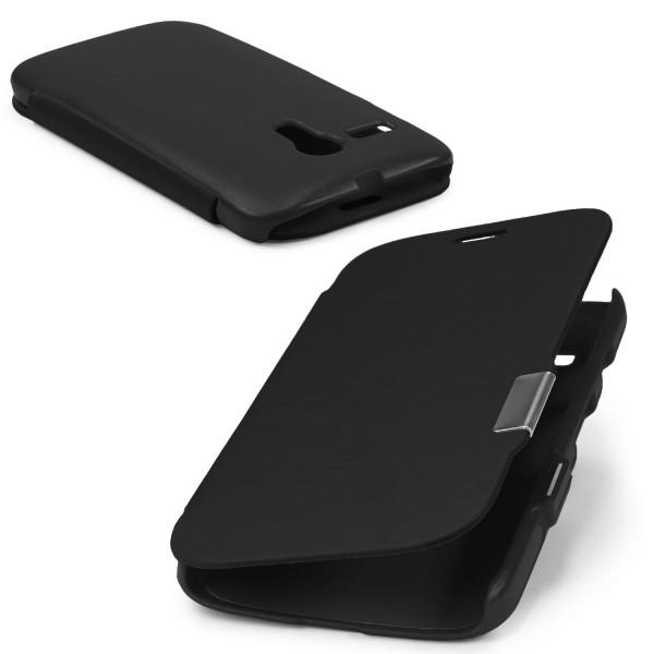 Urcover® Motorola Moto G Schutz Hülle Klapp Wallet Flip Case Cover Tasche Etui