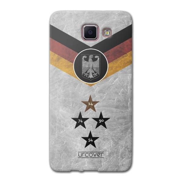 Urcover® Samsung Galaxy A5 (2016) Fanartikel Schutz Hülle Fußball Case Land Etui