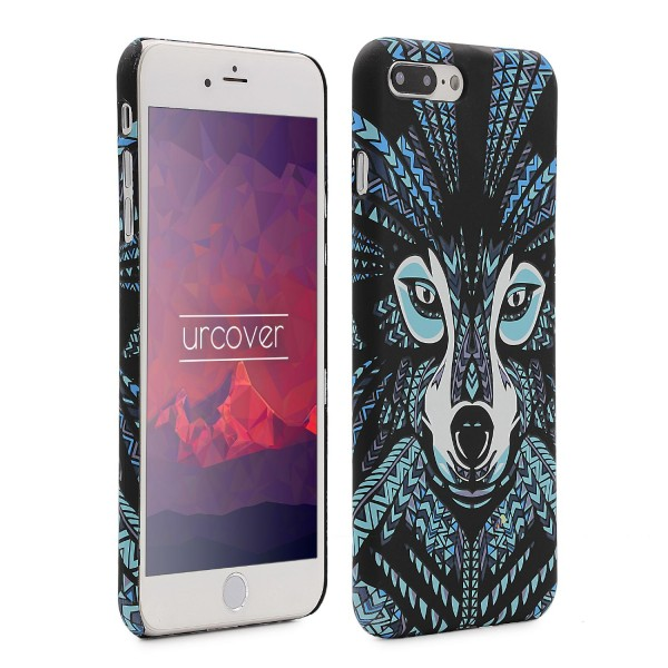 Urcover® Apple iPhone 7 Plus Schutz Hülle Tier Muster Hard Back Case Cover Etui