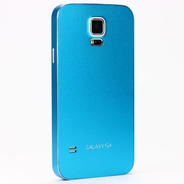 Urcover® Samsung Galaxy S5 Alu Handy Schutz Hülle Full Metal Case Cover Tasche