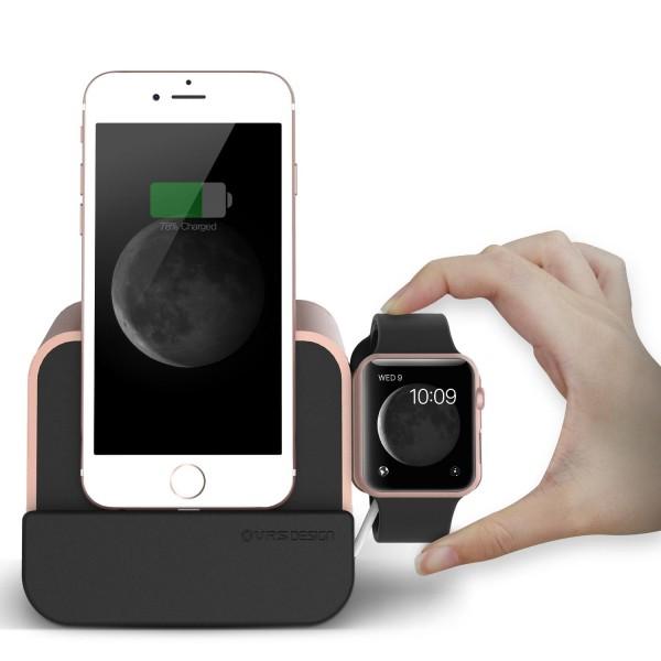 Urcover® i-Depot Plus Lade-Dock Ladestation Ständer für Apple Geräte