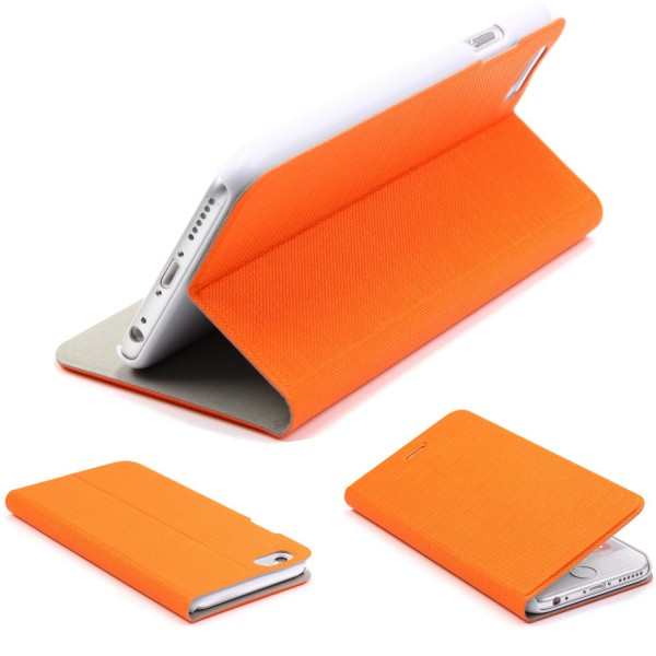 Apple iPhone 6 Plus / 6s Plus View Case Schutz Hülle Wallet Cover Etui Tasche