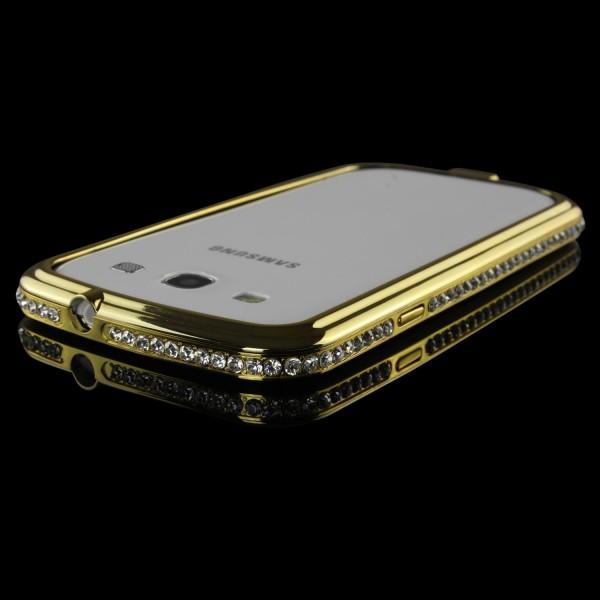 Urcover® Samsung Galaxy S3 Alu Handy Schutz Hülle Bumper Hard Case Cover