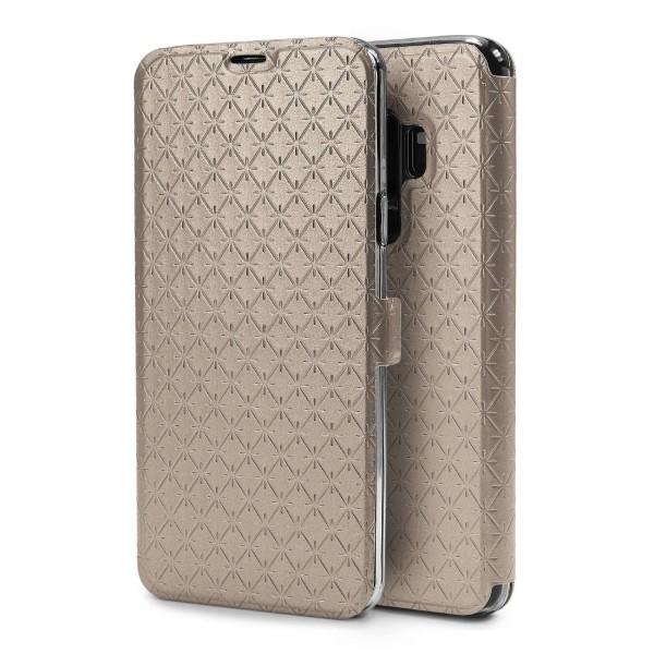 Handy Etui für Samsung Galaxy S9 Plus Case Cover Schutz Hülle Schale Flip Wallet